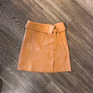Loft Wrap Skirt - Camel